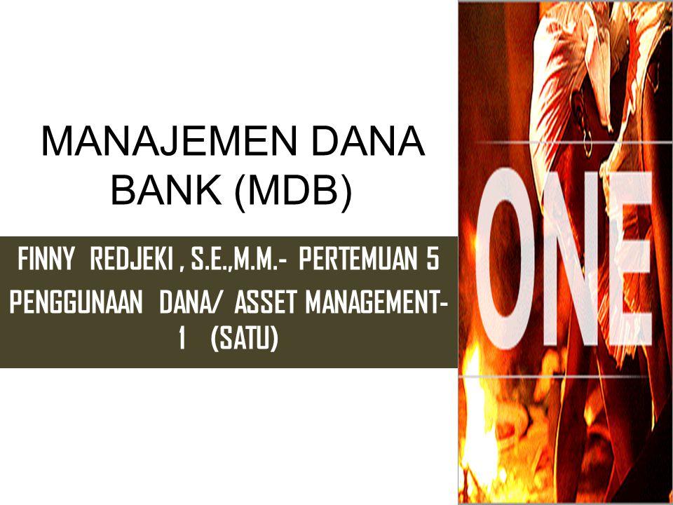 MANAJEMEN DANA BANK (MDB)
