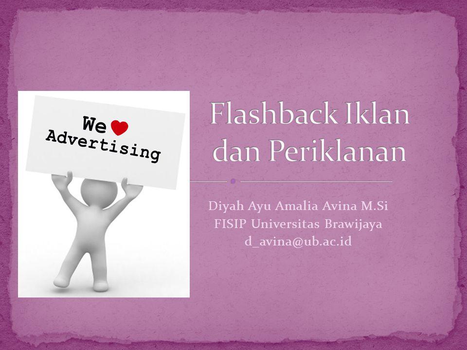 Flashback Iklan dan Periklanan