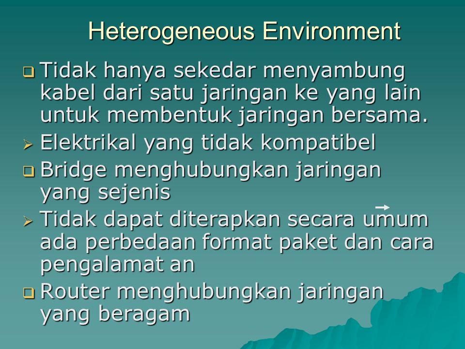 Heterogeneous Environment