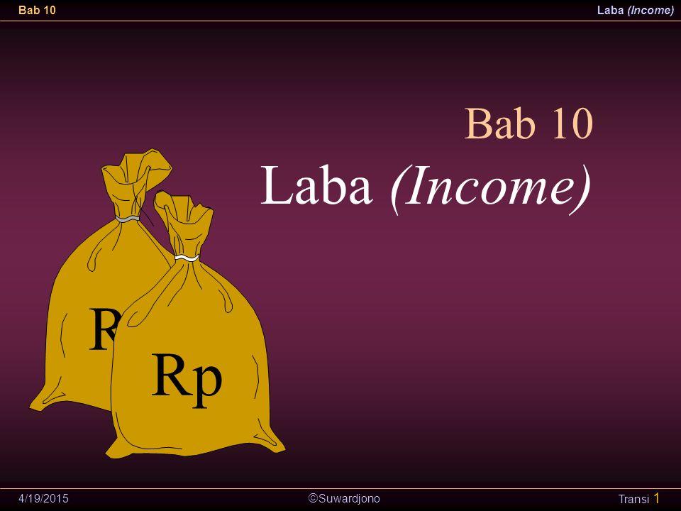 Bab 10 Laba (Income) Rp 4/13/2017