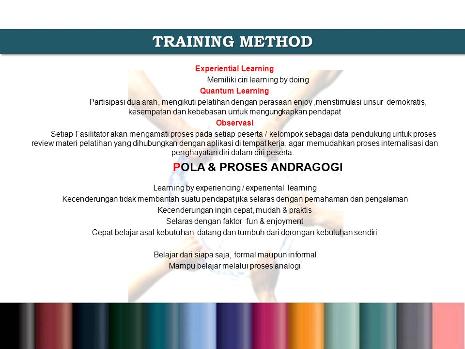TRAINING METHOD POLA & PROSES ANDRAGOGI Experiential Learning
