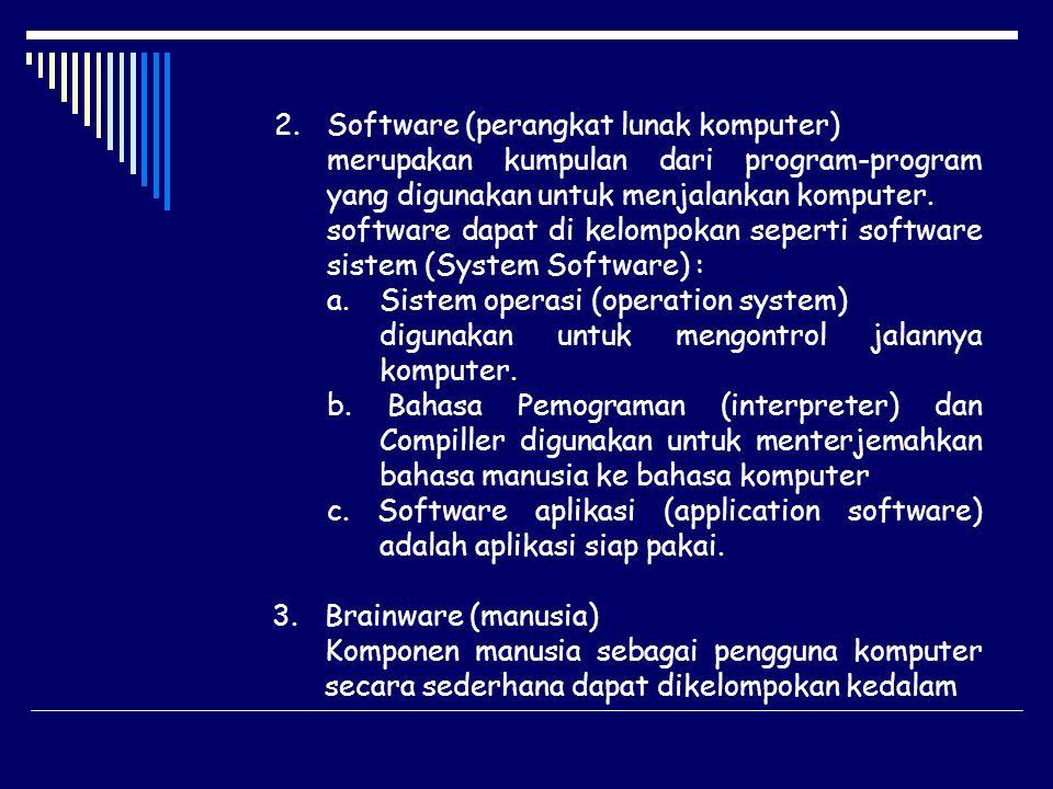Software (perangkat lunak komputer)
