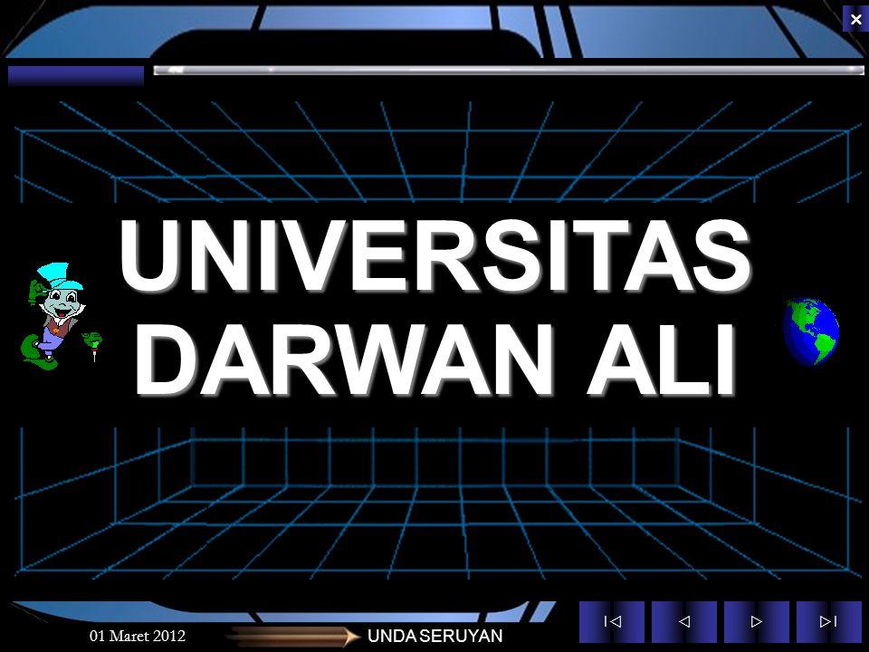 UNIVERSITAS DARWAN ALI