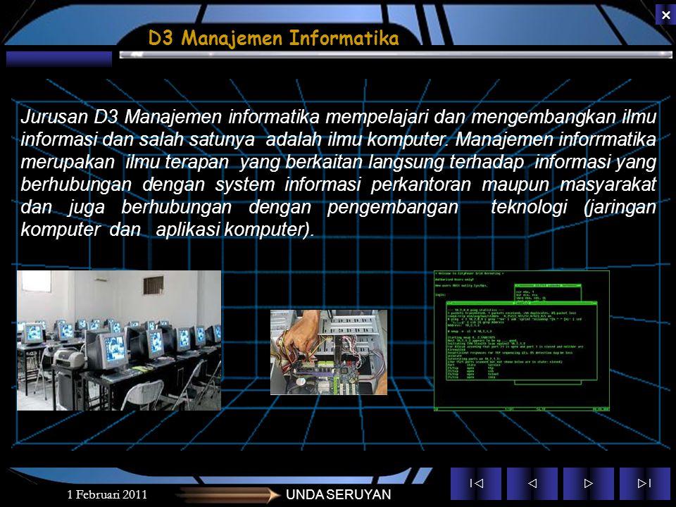 D3 Manajemen Informatika
