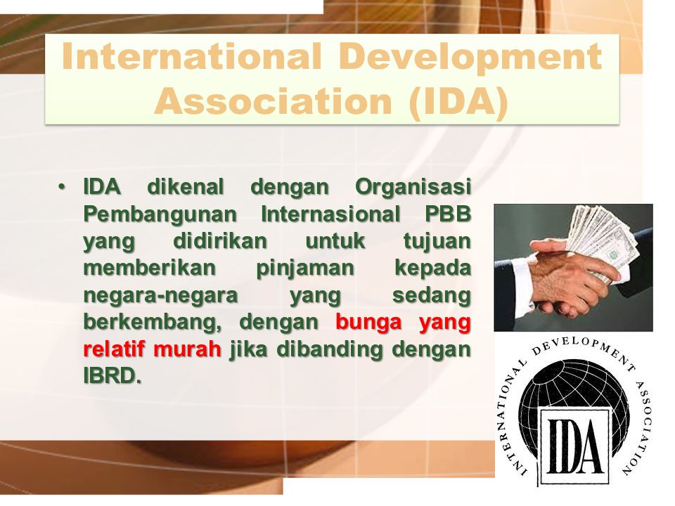 International Development Association (IDA)