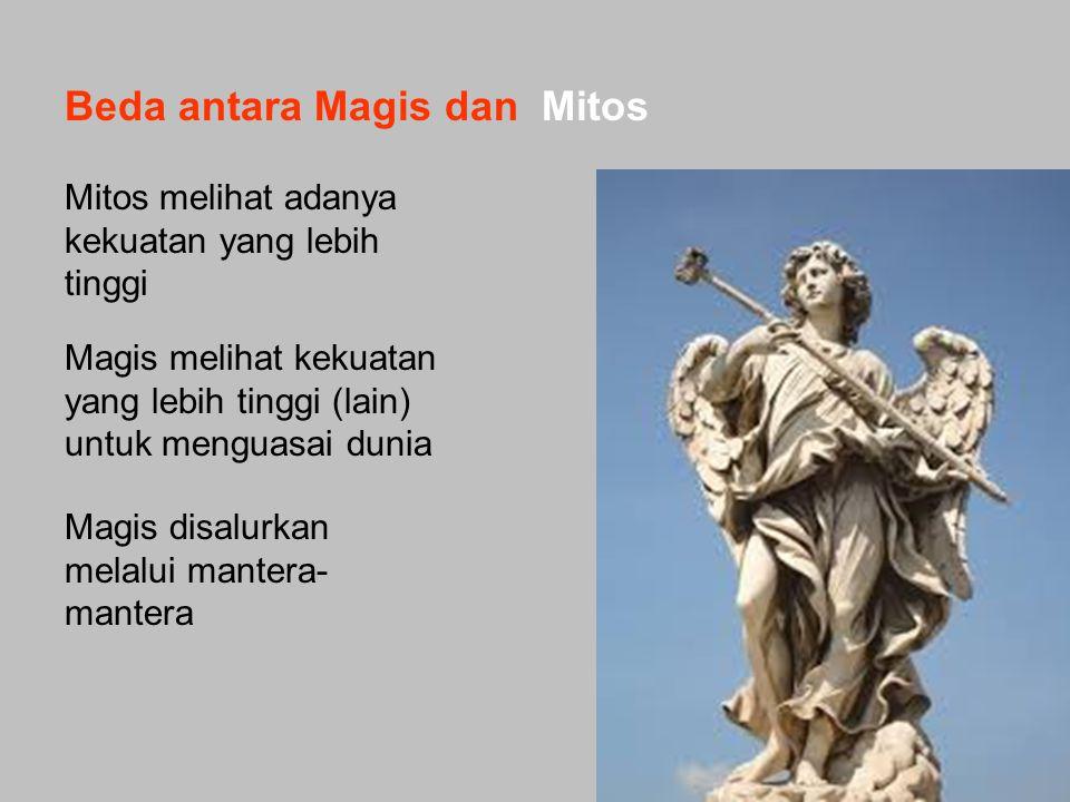 Beda antara Magis dan Mitos