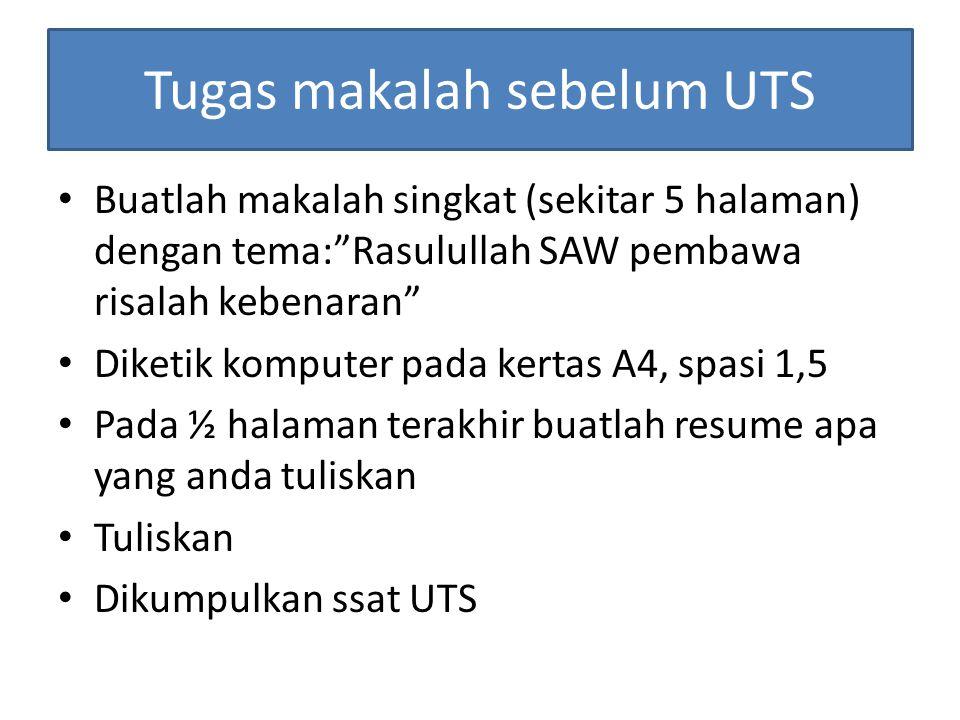 Tugas makalah sebelum UTS