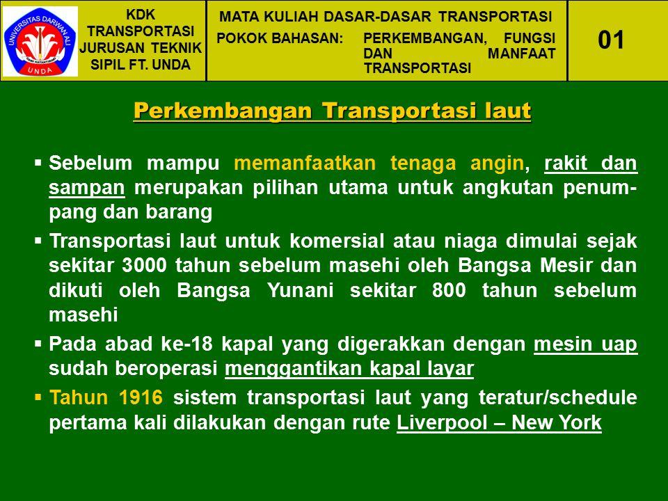 01 Perkembangan Transportasi laut
