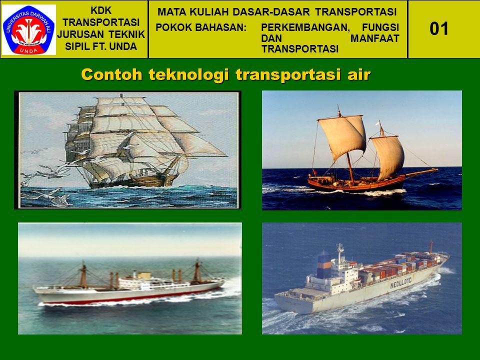 01 Contoh teknologi transportasi air