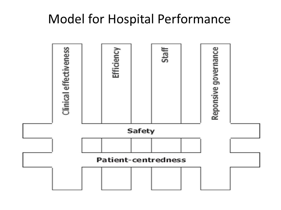 Model for Hospital Performance