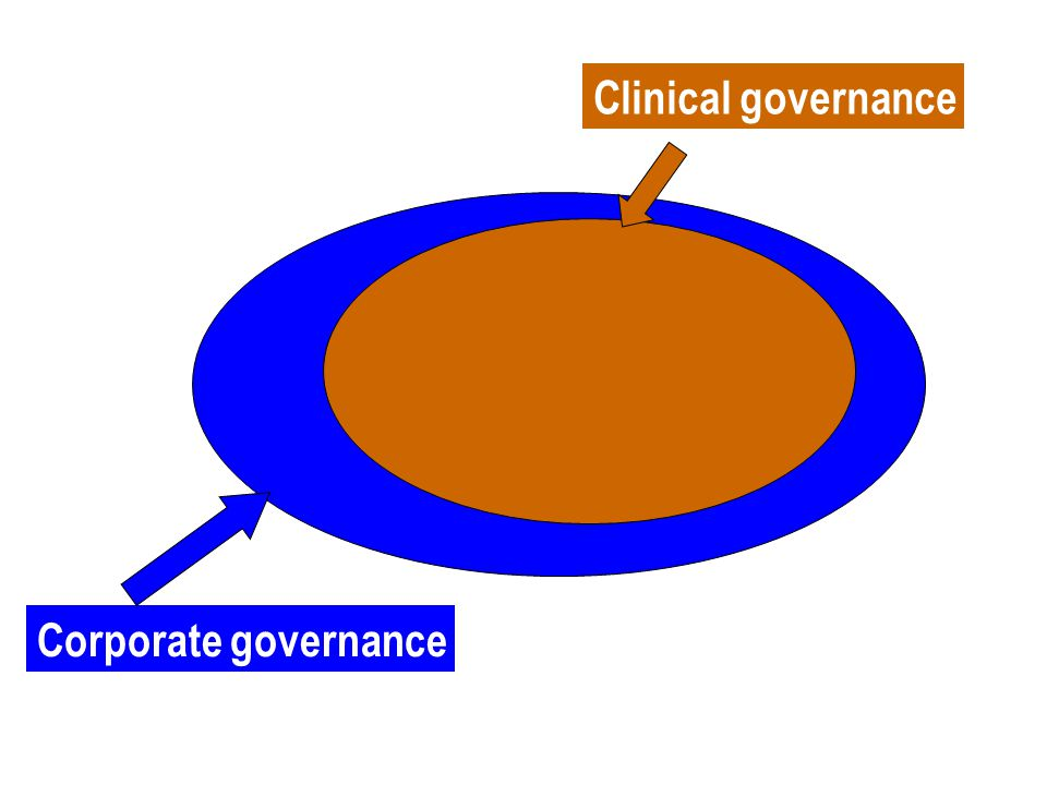 Clinical governance Corporate governance
