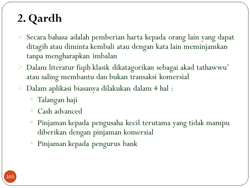 2. Qardh