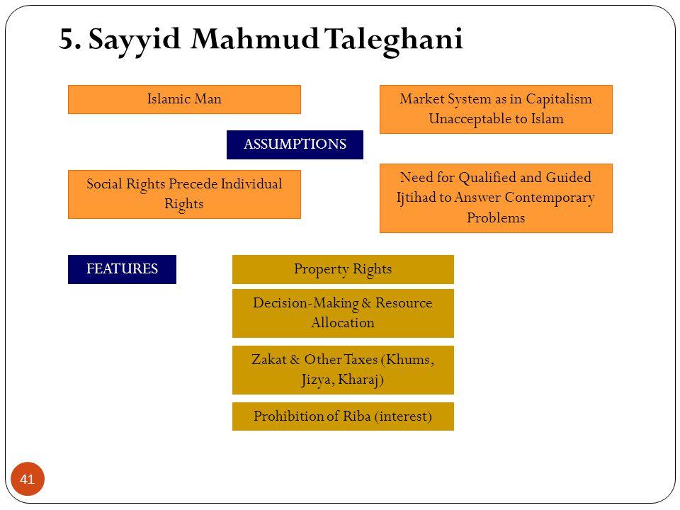5. Sayyid Mahmud Taleghani