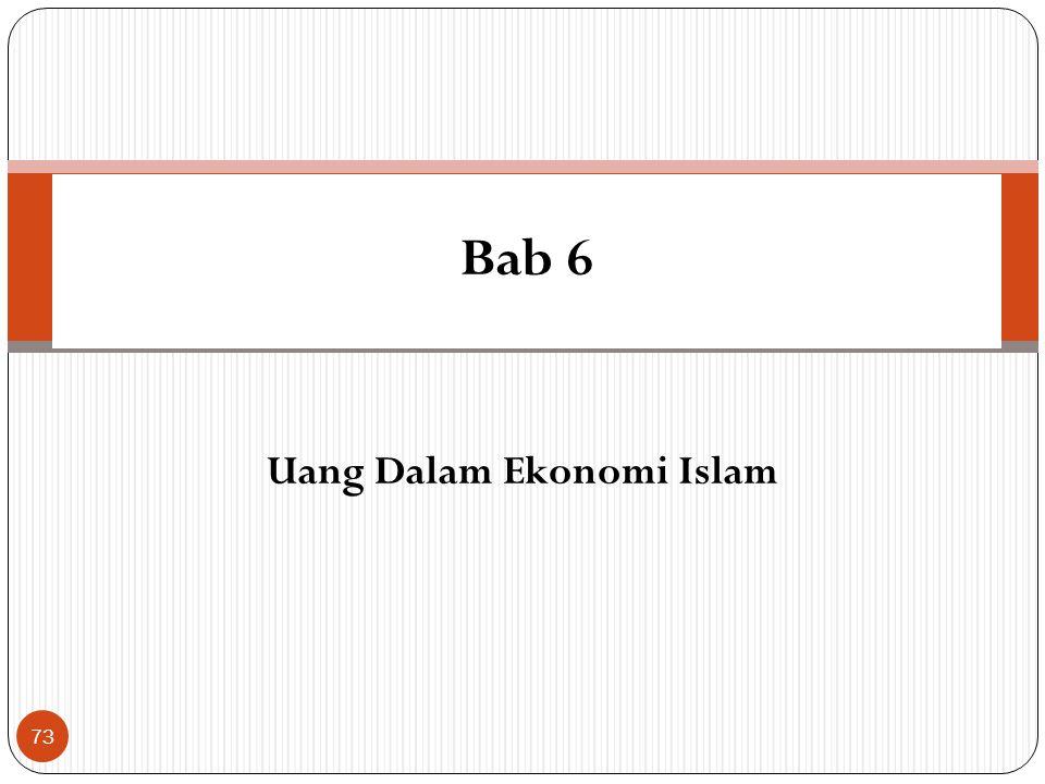 Uang Dalam Ekonomi Islam
