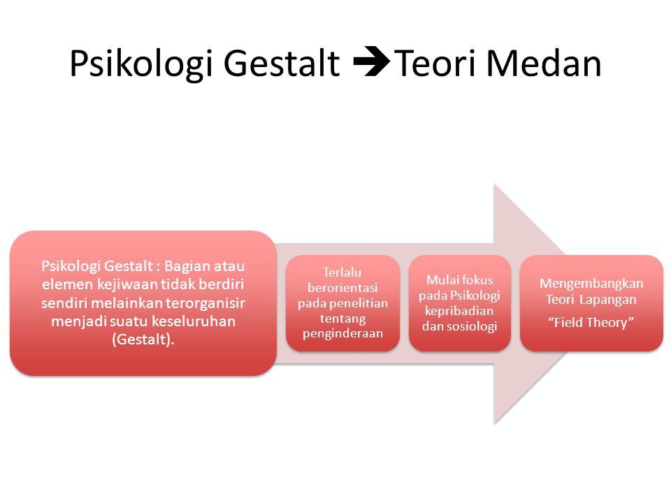 Psikologi Gestalt Teori Medan
