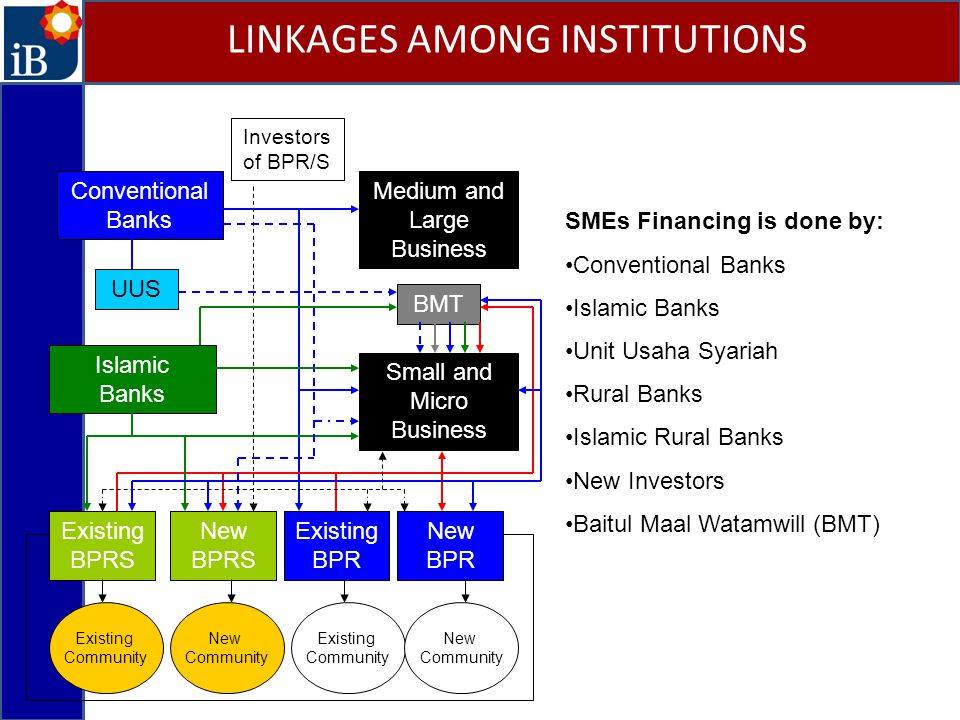 LINKAGES AMONG INSTITUTIONS