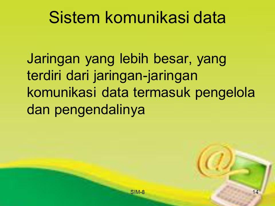 Sistem komunikasi data