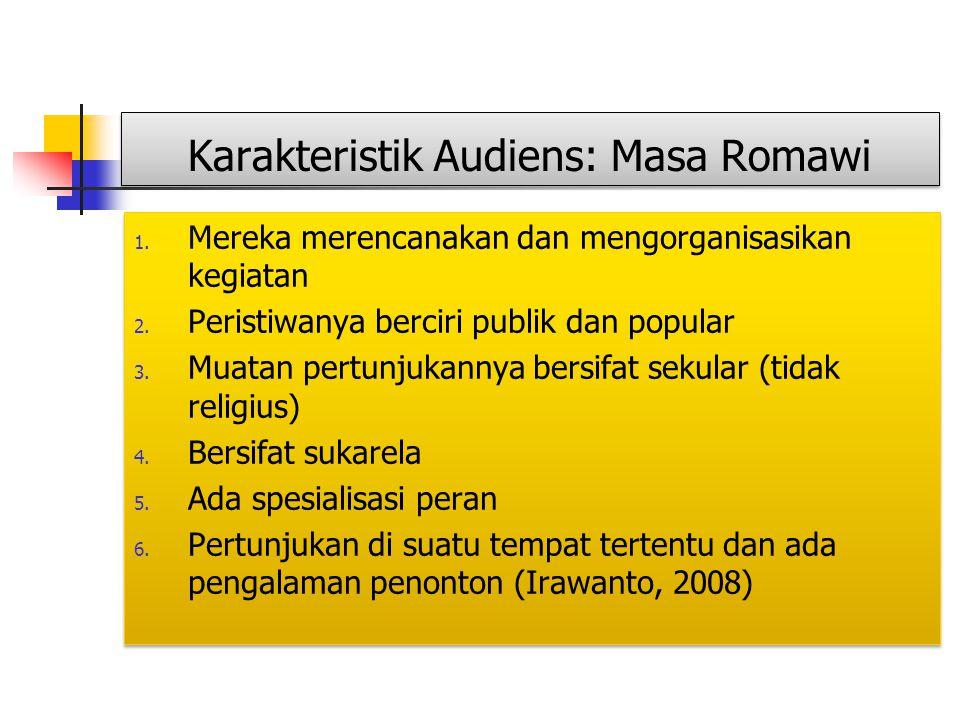 Karakteristik Audiens: Masa Romawi