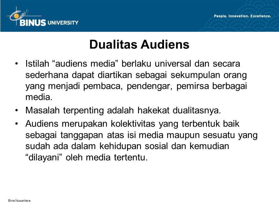 Dualitas Audiens