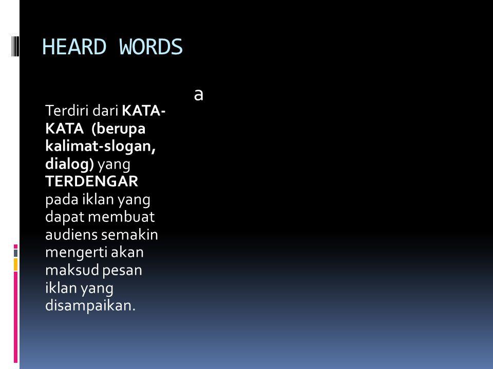 HEARD WORDS