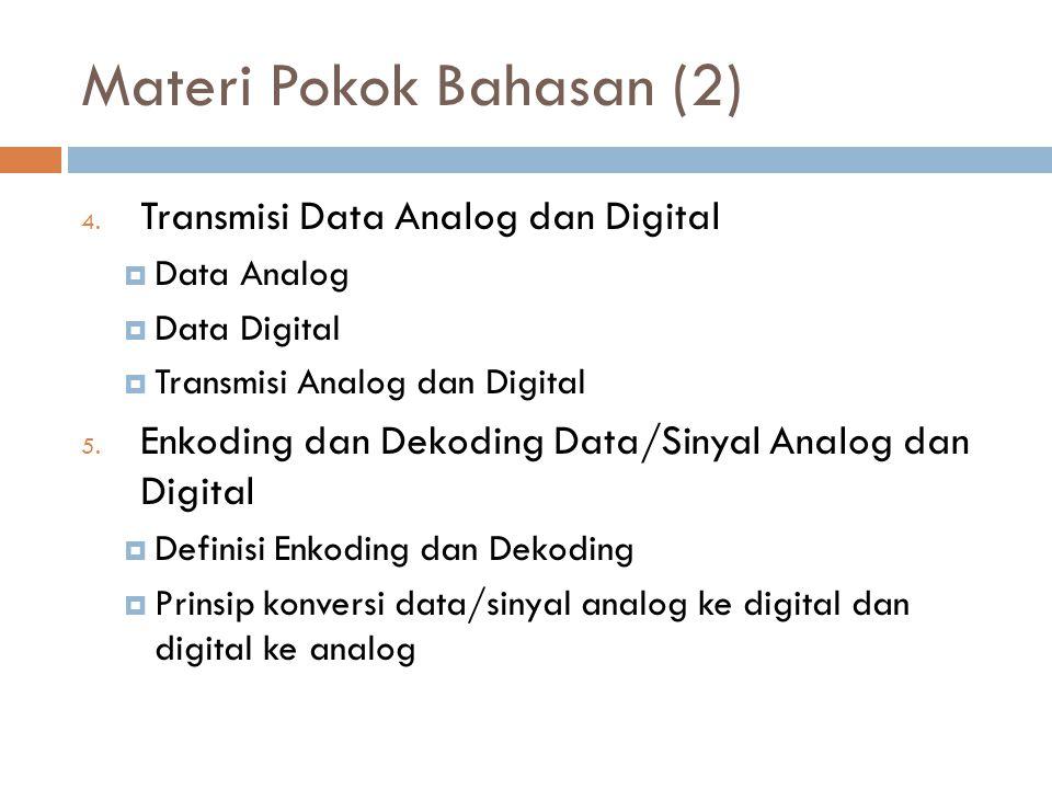 Materi Pokok Bahasan (2)
