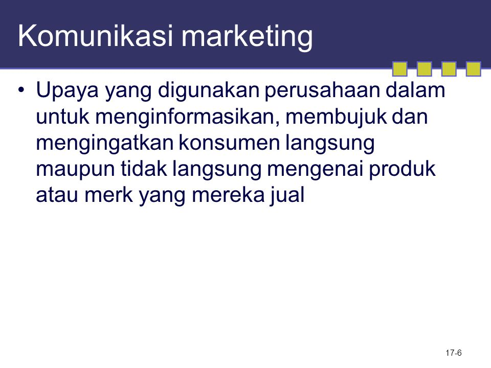 Komunikasi marketing