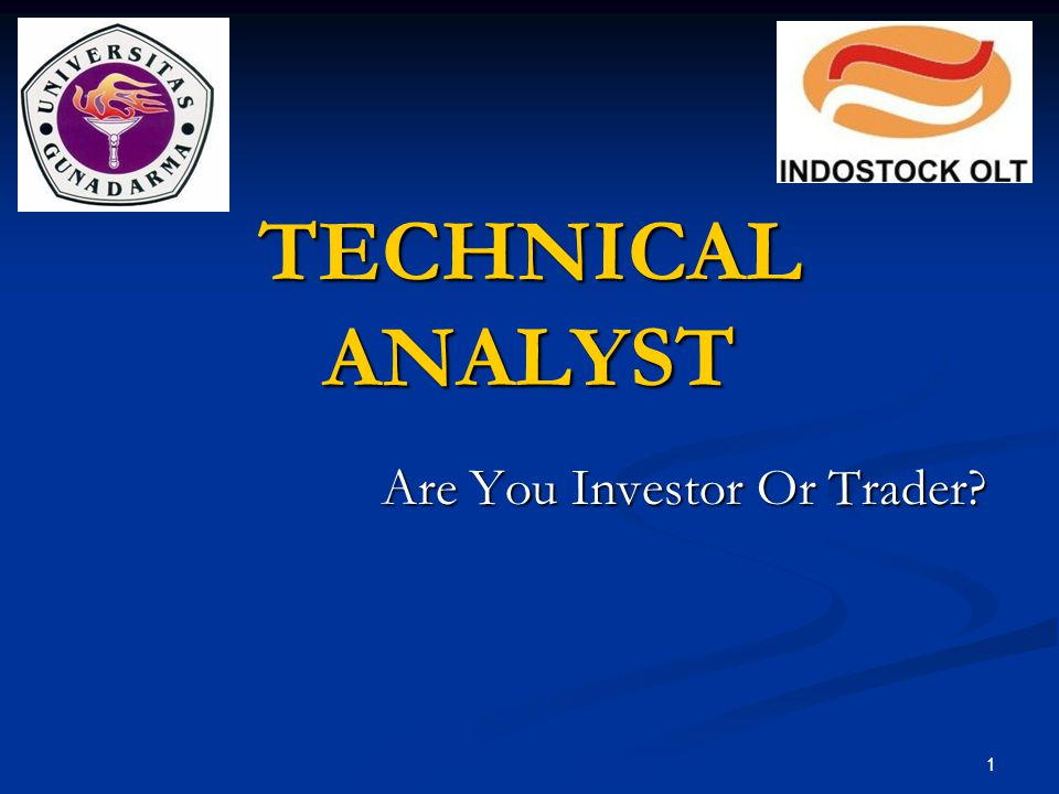 Are You Investor Or Trader