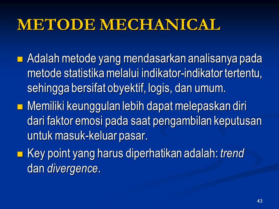 METODE MECHANICAL