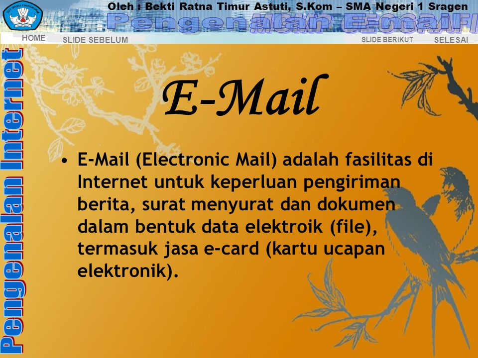E-Mail Pengenalan E-mail