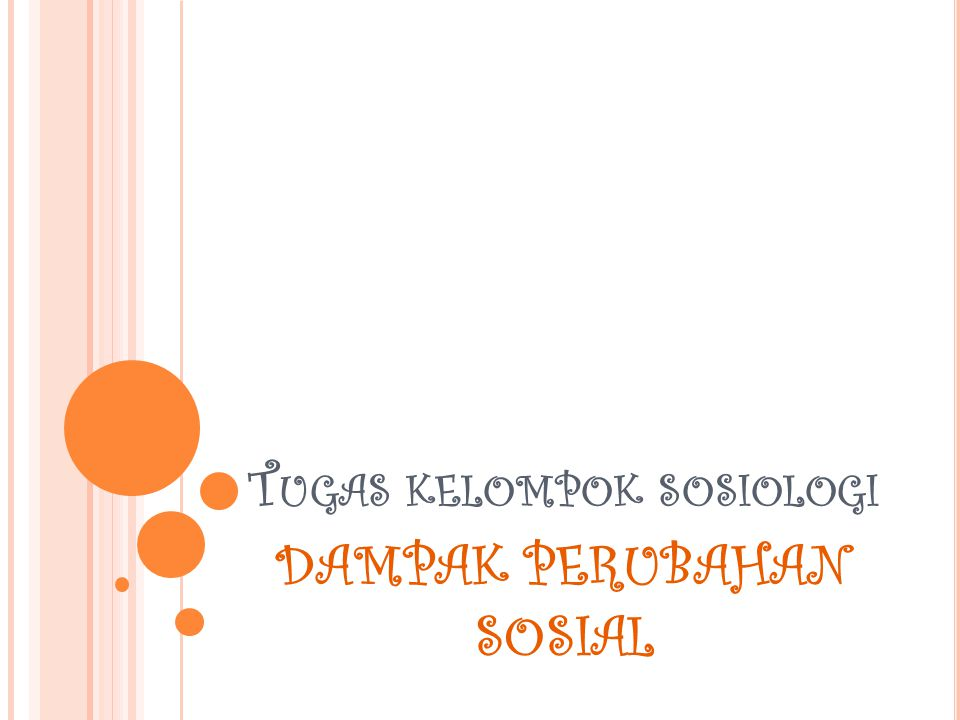 Tugas kelompok sosiologi
