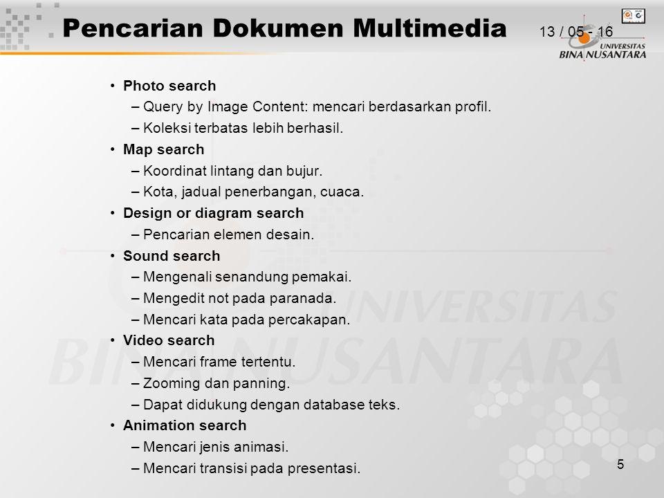 Pencarian Dokumen Multimedia