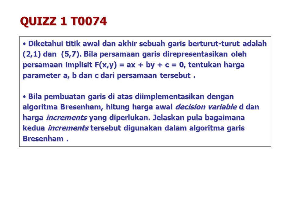 QUIZZ 1 T0074