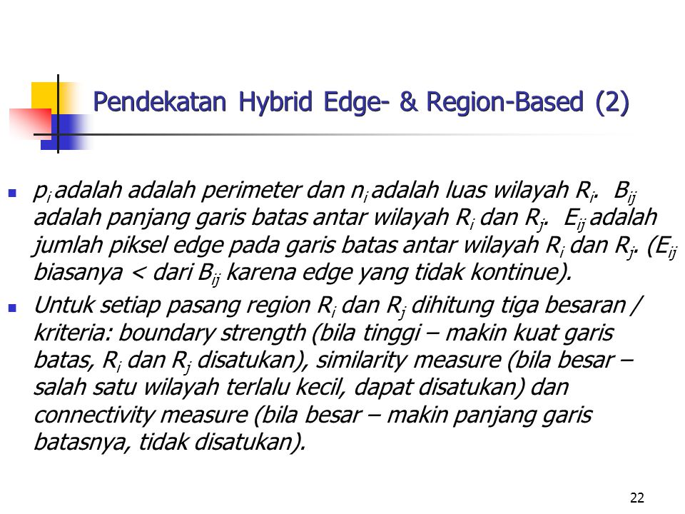 Pendekatan Hybrid Edge- & Region-Based (2)