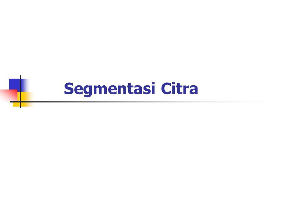 Segmentasi Citra