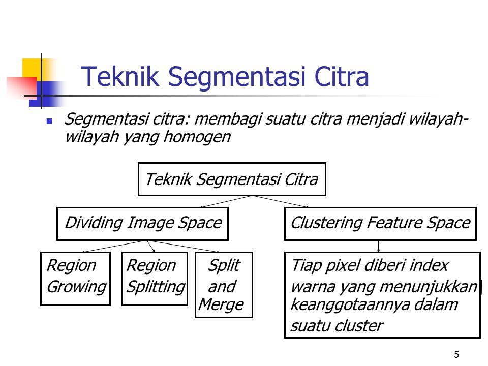 Teknik Segmentasi Citra