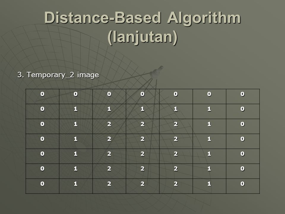 Distance-Based Algorithm (lanjutan)