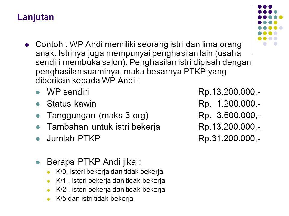 Tanggungan (maks 3 org) Rp. 3.600.000,-