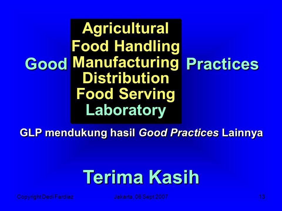GLP mendukung hasil Good Practices Lainnya