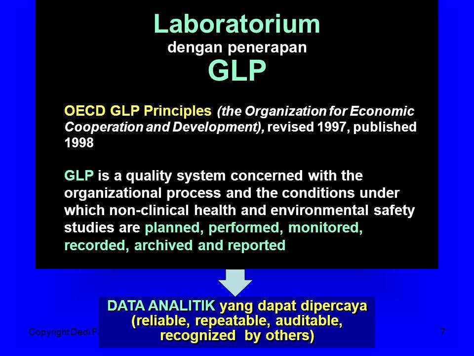 GLP Laboratorium dengan penerapan