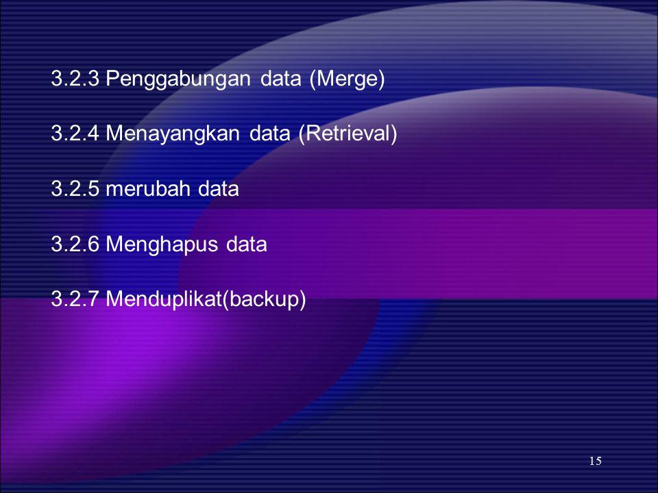 3.2.3 Penggabungan data (Merge)