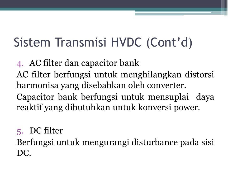 Sistem Transmisi HVDC (Cont'd)