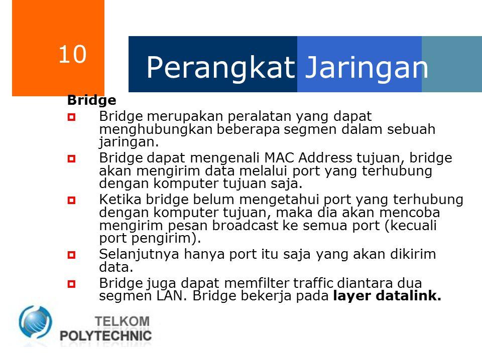 Perangkat Jaringan Bridge