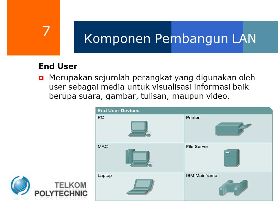 Komponen Pembangun LAN