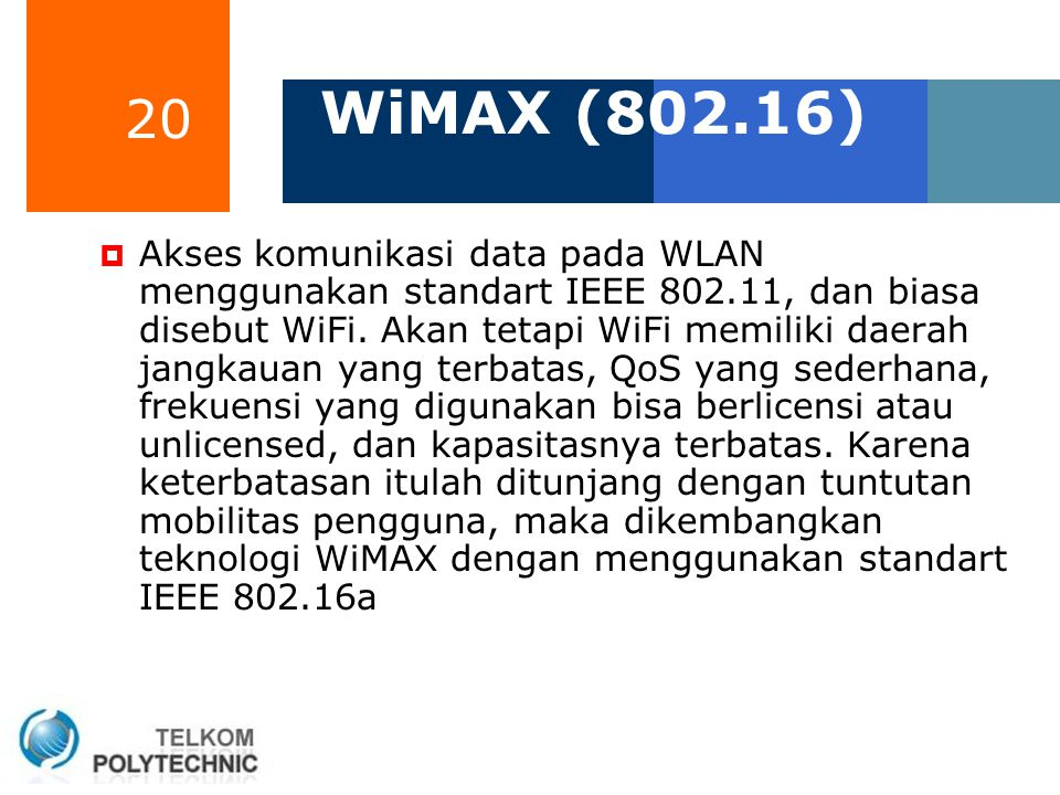 WiMAX (802.16)