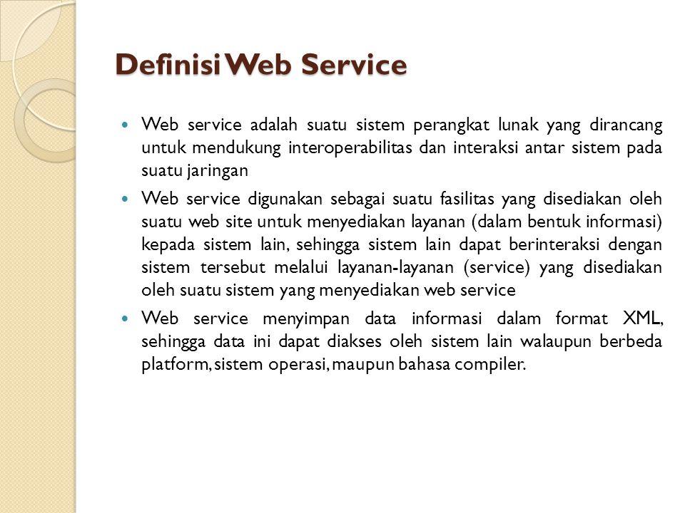 Definisi Web Service