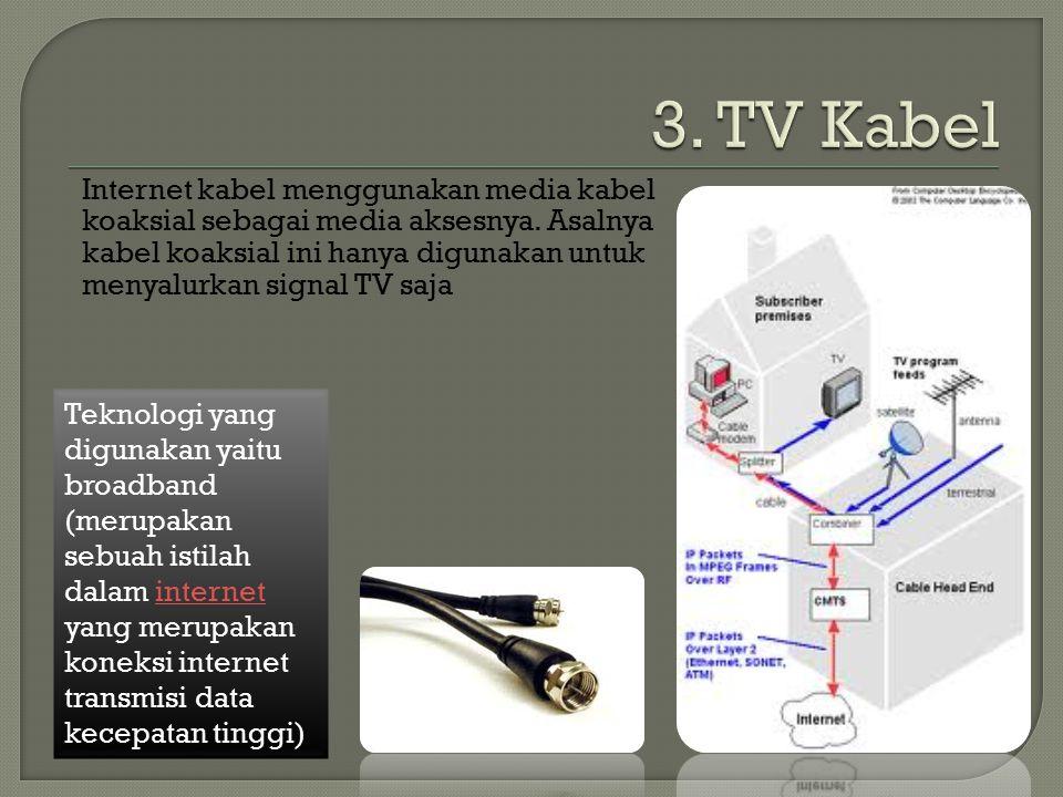 3. TV Kabel