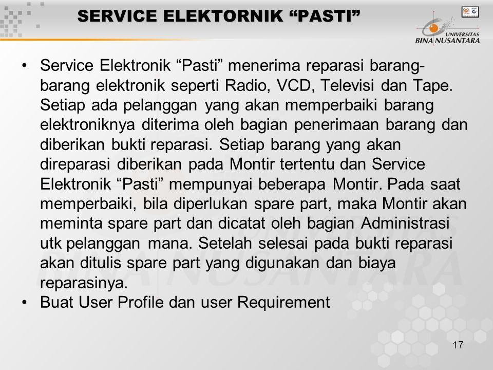SERVICE ELEKTORNIK PASTI
