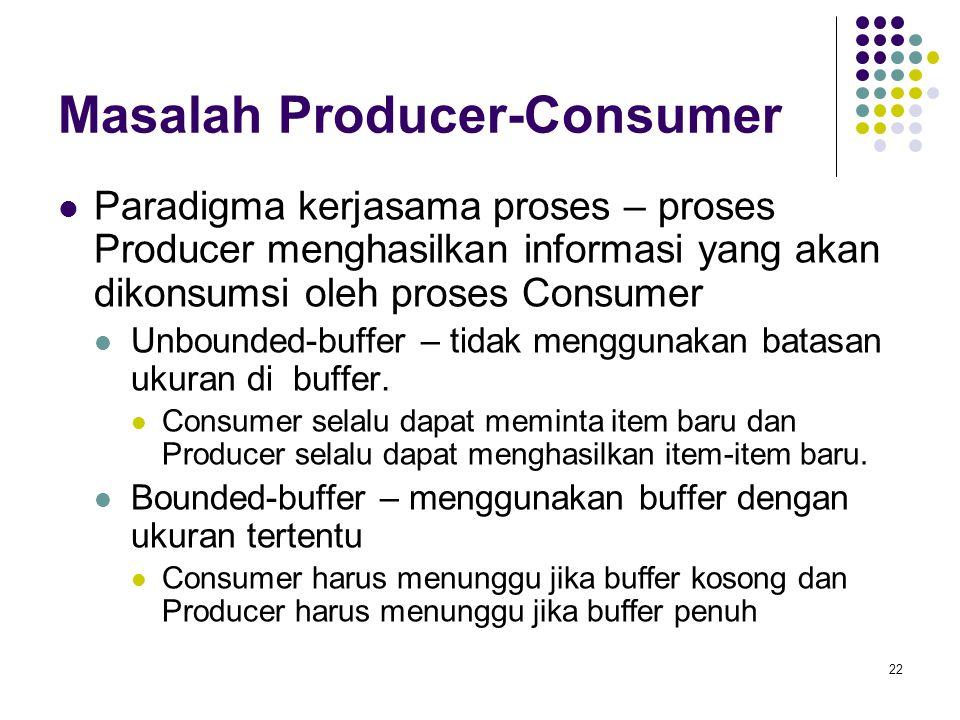 Masalah Producer-Consumer