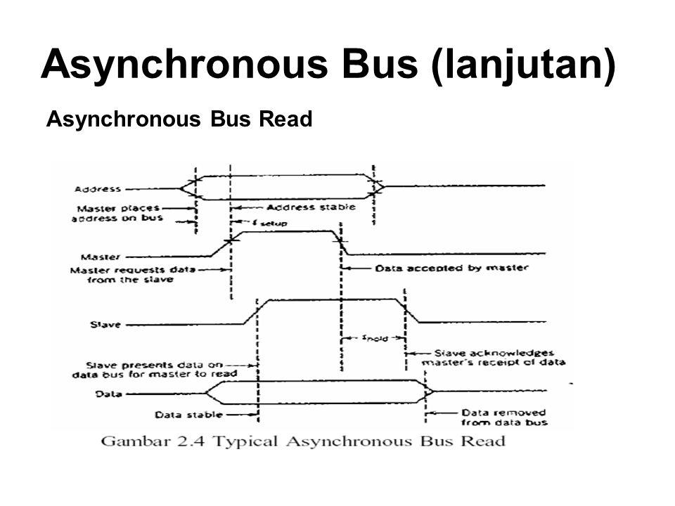 Asynchronous Bus (lanjutan)