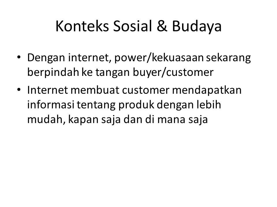 Konteks Sosial & Budaya